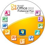 Microsoft Office 2010 Professional Plus Logo Icon PNG