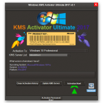 Windows KMS Activator Ultimate Logo Icon PNG