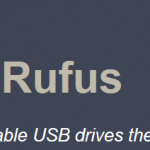 Rufus USB Bootable Logo Icon PNG