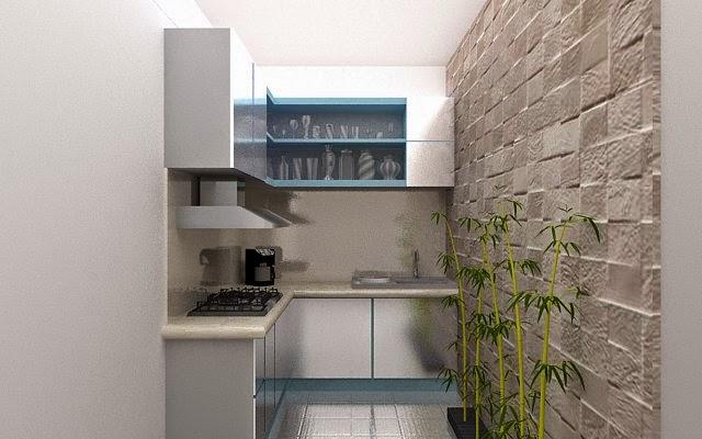 ruang dapur dengan vray