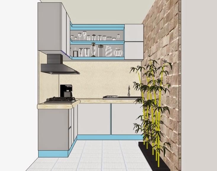 ruang dapur tanpa vray