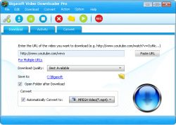 Download Bigasoft Video Downloader Pro