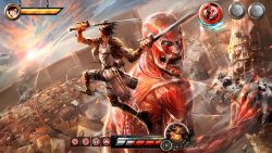 Download Game Attack on Titan Wings of Freedom