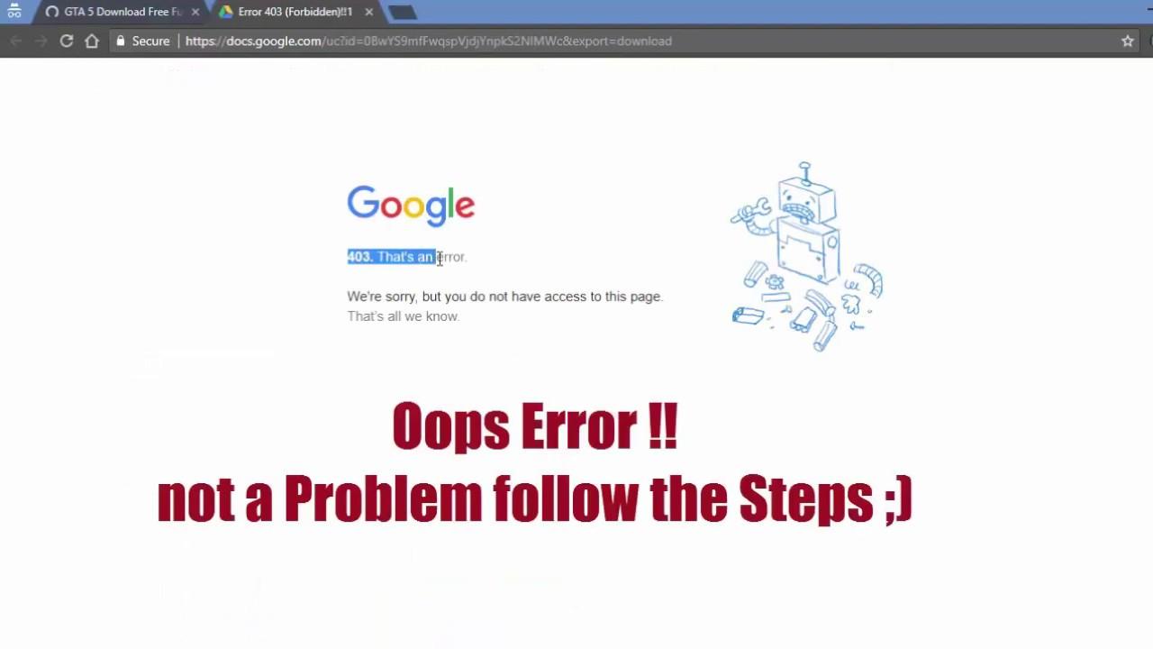 Cara Mengatasi Error Google Drive 403 Saat Download File