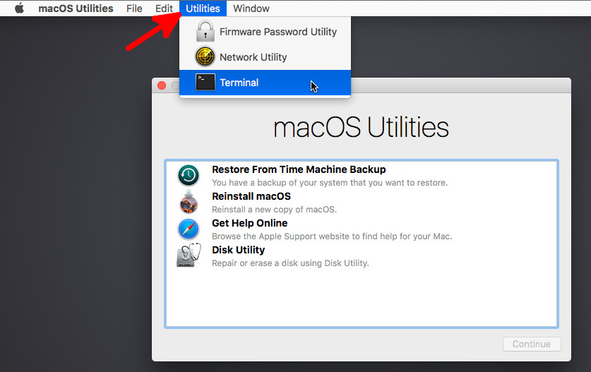 macos ultilities