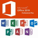 Microsoft Office 2019 Pro Plus Logo Icon PNG