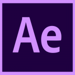 Adobe After Effects CC 2019 Logo Icon PNG