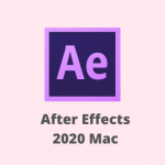 Adobe After Effects CC 2020 for Mac